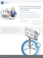 Image of iTero® Element™ Intraoral Scanner fact page
